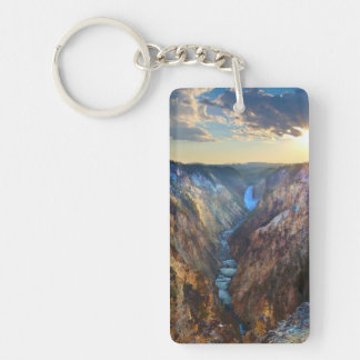 Lower Falls from Artist's Point Keychain