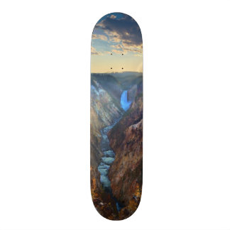 Lower Falls from Artist's Point Skateboard Deck