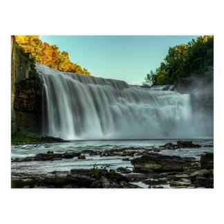 Lower Falls, Genesee River Postcard