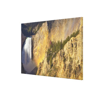Lower Falls in the Grand Canyon of the Canvas Print
