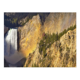 Lower Falls in the Grand Canyon of the Postcard