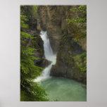 Lower falls, Johnston Canyon Poster