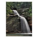 Lower Falls, Old Man's Cave, Hocking Hills, Ohio Photo Print
