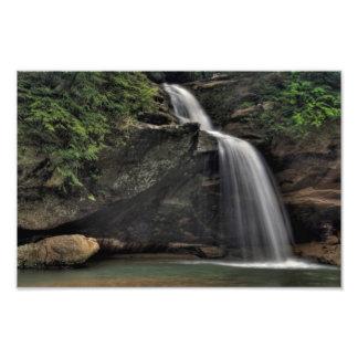 Lower Falls, Old Man's Cave, Hocking Hills, Ohio Art Photo