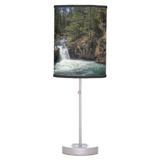 LOWER FALLS ON THE McCLOUD Table Lamp