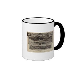 Lower Falls, Spokane Ringer Mug