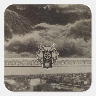 Lower Falls, Spokane Stickers