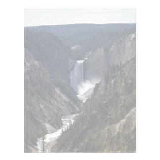 Lower Falls, Yosemite National Park Custom Letterhead