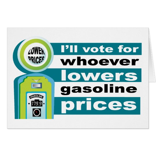 Lower Gas Prices  Card