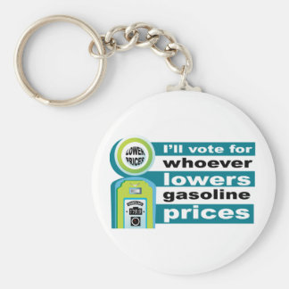 Lower Gas Prices  Keychain
