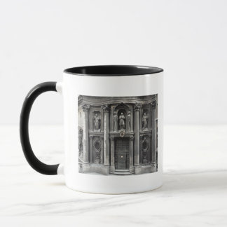 Lower half of the facade, 1637-41 mug