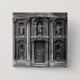 Lower half of the facade, 1637-41 pinback button