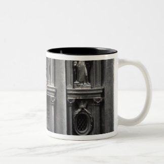 Lower half of the facade, 1637-41 Two-Tone coffee mug