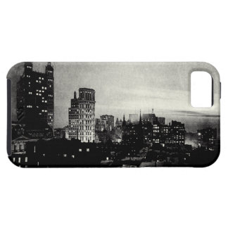Lower Manhattan 1898 en la oscuridad Funda Para iPhone SE/5/5s