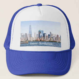 Lower Manhattan Color SketchTrucker Hat