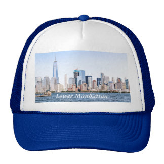Lower Manhattan Color SketchTrucker Hat