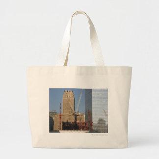 Lower Manhattan Large Tote Bag