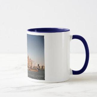 Lower Manhattan, New York City, 1950s Vintage Mug