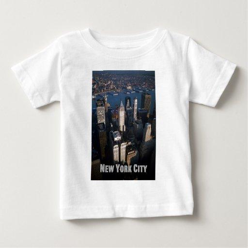 Lower-Manhattan New York City Baby T-Shirt
