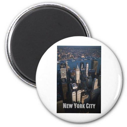 Lower Manhattan New York City Imanes Para Frigoríficos