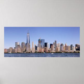 Lower Manhattan Panorama Poster