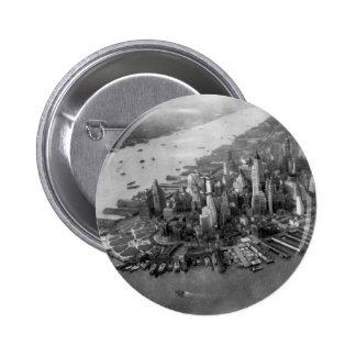 Lower Manhattan Photograph Button