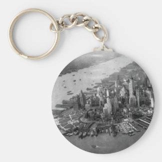 Lower Manhattan Photograph Keychains