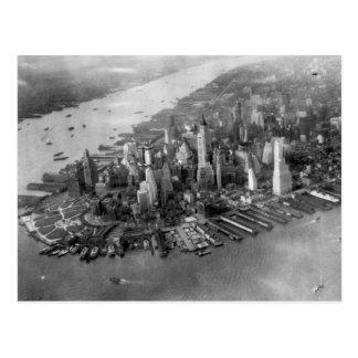 Lower Manhattan Photograph Postcard