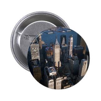 Lower Manhattan Pin Redondo 5 Cm