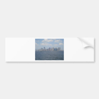 Lower Manhattan post cards, stickers, note cards Bumper Sticker