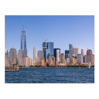 Lower Manhattan Postcard