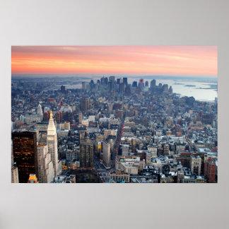 Lower Manhattan Póster