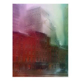 Lower Manhattan Shower Postcard