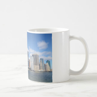 Lower Manhattan Skyline Coffee Mug