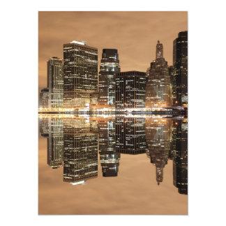Lower Manhattan Skyline, New York City Card