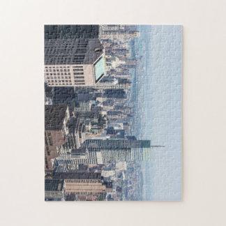 Lower Manhattan Skyline Puzzle