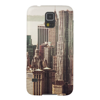 Lower Manhattan Skyline - View from Midtown Galaxy S5 Cover