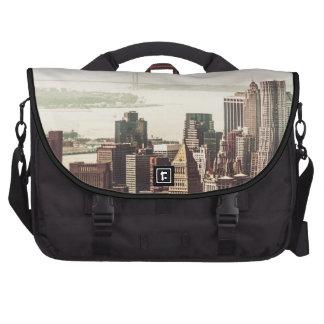Lower Manhattan Skyline - View from Midtown Computer Bag