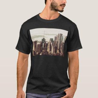 Lower Manhattan Skyline - View from Midtown T-Shirt