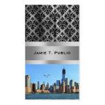 Lower Manhattan Skyline: WTC, Woolworth Business Card Templates