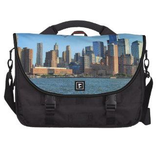 Lower Manhattan Skyline: WTC, Woolworth Bag For Laptop