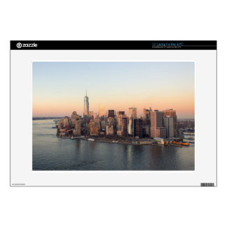 Lower Manhattan Sunset WTC Freedom Tower NYC Skin For Laptop