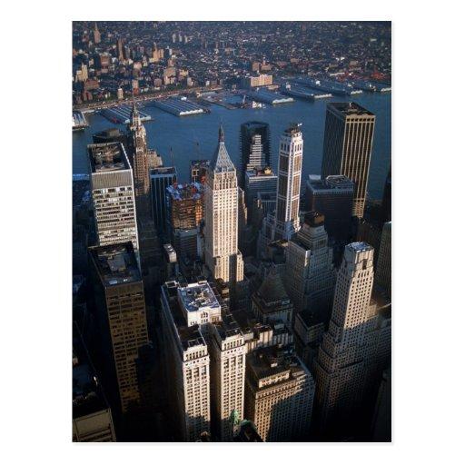 Lower Manhattan Tarjetas Postales