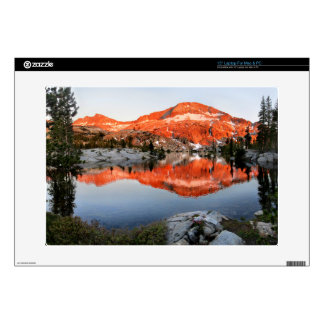 "Lower Ottoway Lake Sunset - Yosemite Decals For 15"" Laptops"