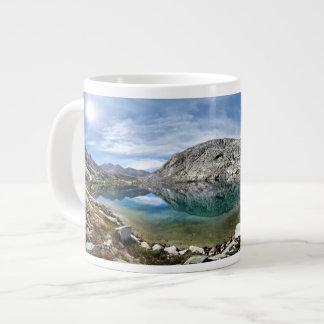 Lower Palisade Lake 3 - John Muir Trail Jumbo Mugs