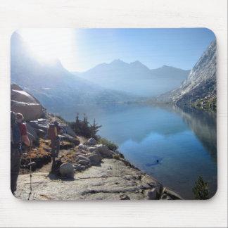Lower Palisade Lake Sunrise - John Muir Trail Mouse Pads