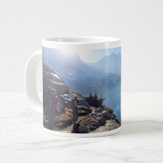 Lower Palisade Lake Sunrise - John Muir Trail Extra Large Mugs