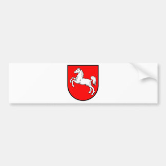 Lower Saxony coat of arms Bumper Sticker
