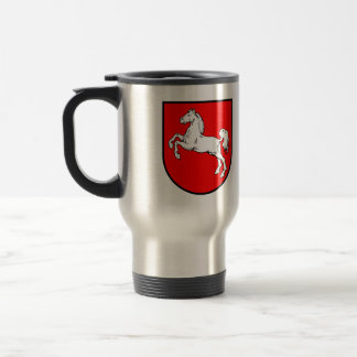 Lower Saxony coat of arms 15 Oz Stainless Steel Travel Mug
