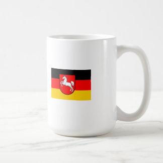 Lower Saxony flag with coats of arms Coffee Mug